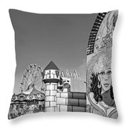 Something For Everyone - Bw Throw Pillow