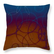 Something In My Drink Throw Pillow