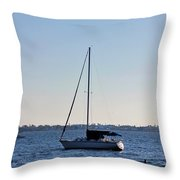 Something In The Water Throw Pillow