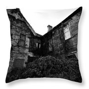 Something In The Window Throw Pillow