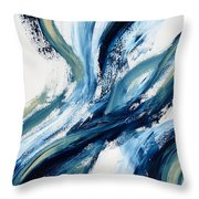 Something. Throw Pillow