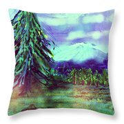 Something Left Behind Throw Pillow