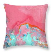 Somewhere New- Abstract Art By Linda Woods Throw Pillow by Linda Woods