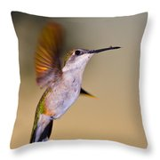 Something On My Beak? Throw Pillow