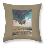 Something Went Horribly Wrong Throw Pillow