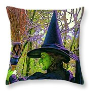 Wicked Ver. 2.0 Throw Pillow