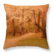 Sometimes - Holmdel Park Throw Pillow