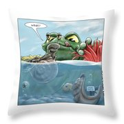 Sometimes Ignorance Is Bliss Throw Pillow