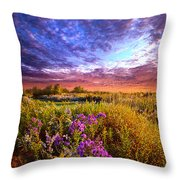 Sometimes It Is The Little Things Throw Pillow