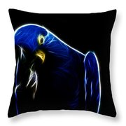 Somewhat Blue Throw Pillow