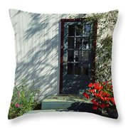 Somewhere At St Louis Village Throw Pillow