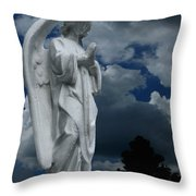Somewhere Between Heaven And Earth Throw Pillow