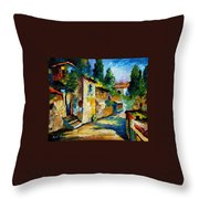somewhere in Israel Throw Pillow