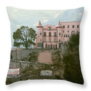 Somewhere In Italy Throw Pillow