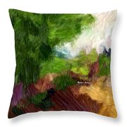 Somewhere In Lala Land Throw Pillow