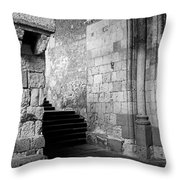 Somewhere In Segovia Throw Pillow
