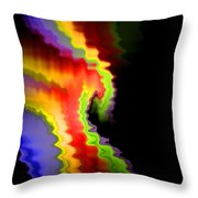 Somewhere In The Night Throw Pillow