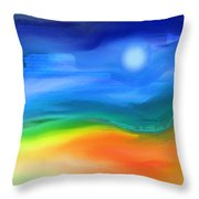 Somewhere In The West 2 Throw Pillow