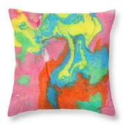 Somewhere New 5- Abstract Art By Linda Woods Throw Pillow by Linda Woods