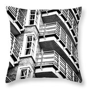 Somewhere Up There Throw Pillow