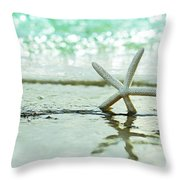 Somewhere You Feel Free Throw Pillow by Laura Fasulo