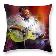 Son House Throw Pillow