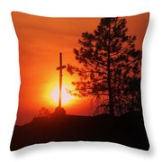 Son Of Suns Throw Pillow