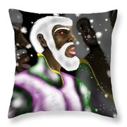 Son Of The Most High  Throw Pillow