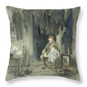 Son Of The Old People Throw Pillow