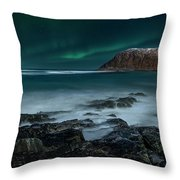 Song For Night Throw Pillow