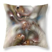 Song For Santana Throw Pillow