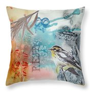 Song Of Life  Throw Pillow