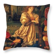 Song Of Love 1877 Throw Pillow