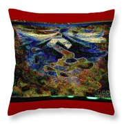 Song Of Love And Compassion Throw Pillow