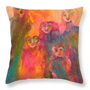 Song Of Our Heart Throw Pillow