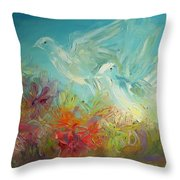 Song Of Solomon 2 12 Holy Scripture  Throw Pillow