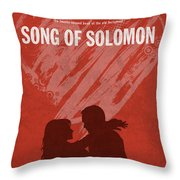 Song Of Solomon Books Of The Bible Series Old Testament Minimal Poster Art Number 22 Throw Pillow