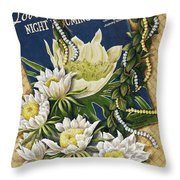 Song Of The Cereus Throw Pillow