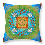 Song Of The Honey Bee Throw Pillow