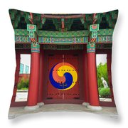 Songahm Gate Throw Pillow
