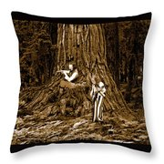 Songs In The Woods 2 Throw Pillow