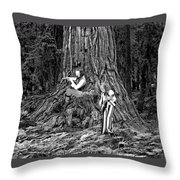 Songs In The Woods Throw Pillow