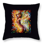 Songs Of Love Throw Pillow