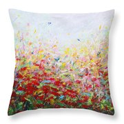 Songs Of Spring 3 Throw Pillow