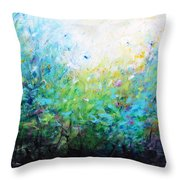Songs Of Spring Throw Pillow