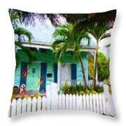 Songwriters House Throw Pillow