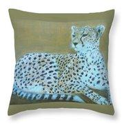 Sonia The Cheetah II Throw Pillow