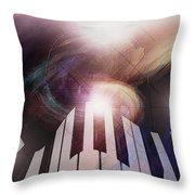 Sonic Light Throw Pillow