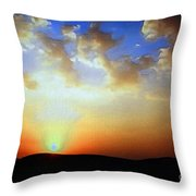 Sonnenuntergang 17052 Throw Pillow