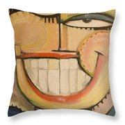 Sonny Sunny Throw Pillow